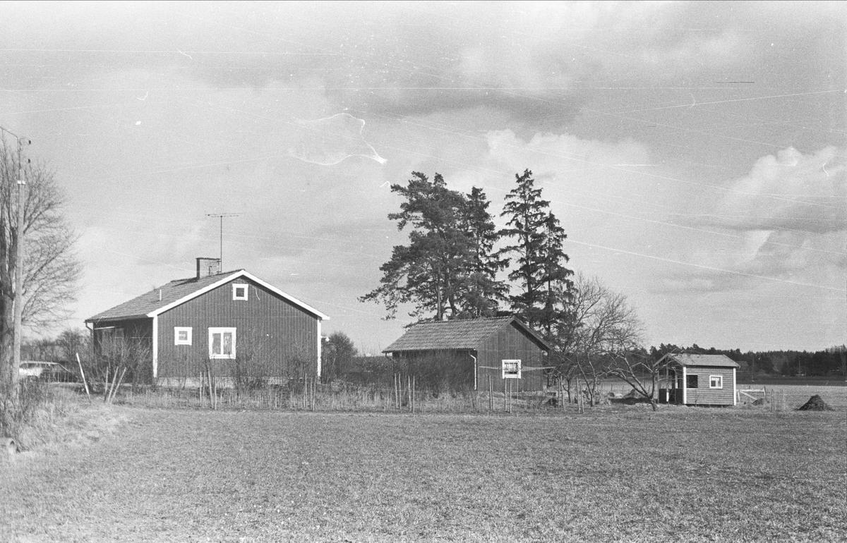 Vy över Kättsta 1:3, Ärentuna socken, Uppland 1977