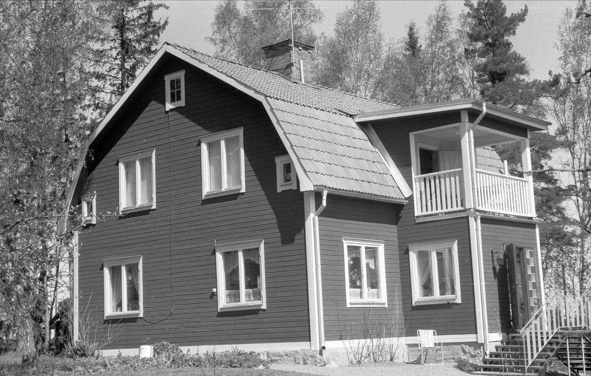 Boningshus, Lyckås, Lyckebo, Ärentuna socken, Uppland 1977