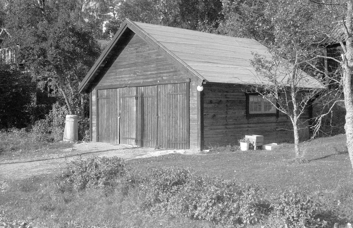 Garage, Sofielund, Marielund, Funbo socken, Uppland 1982