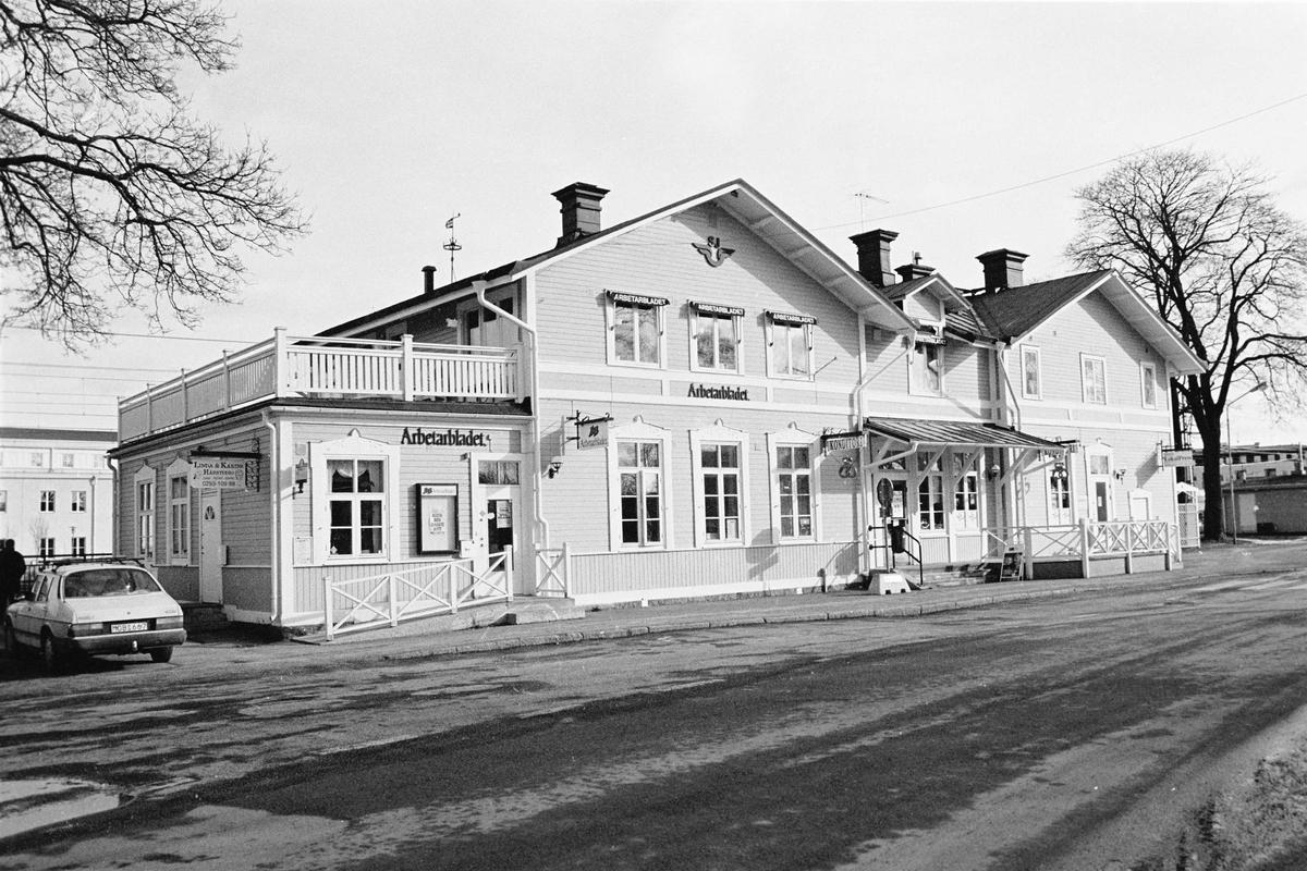 Tierps järnvägsstation, Tierp, Uppland 2000