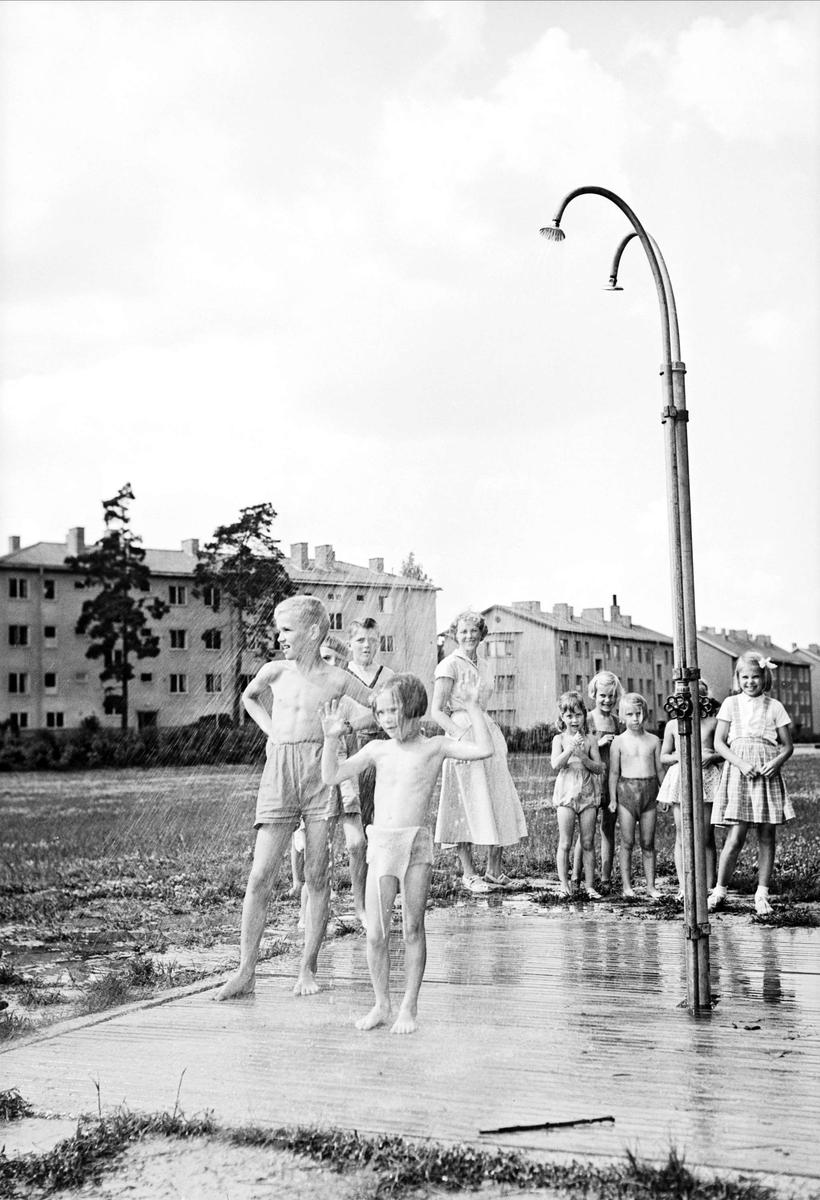 Parklek i Sommarro, Uppsala 1953