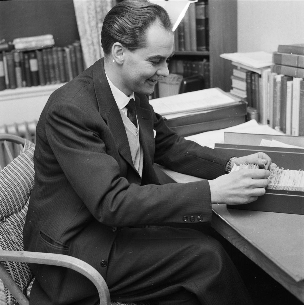 Jur dr Ola Nyquist, Uppsala 1960