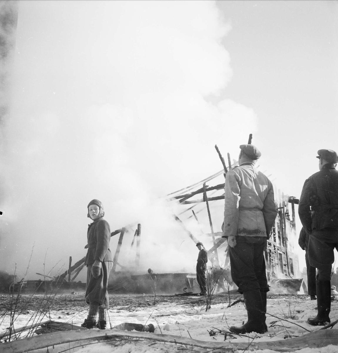 Pyroman i Almunge, Uppland