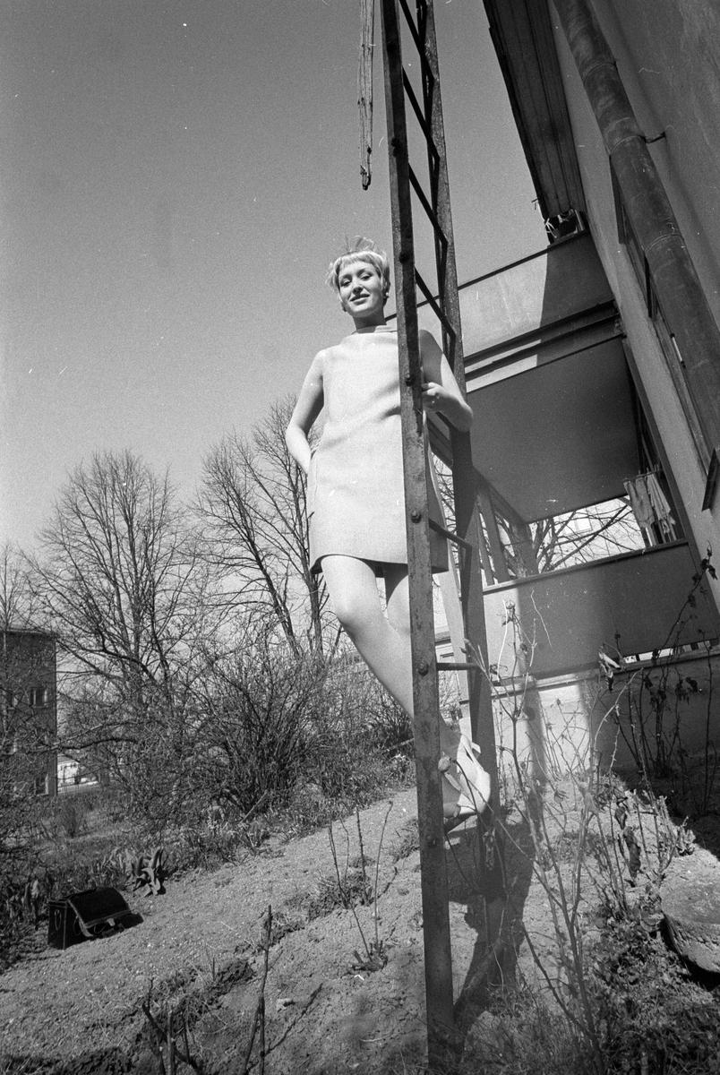 Cecilia Stam, Uppsala april 1967