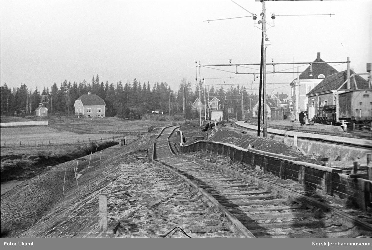 Utglidning av masse på Kolbotn stasjon