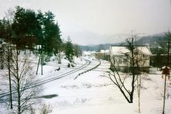 Garden Lunden på Sveindal i vinterdrakt. Grindheim Audnedal.