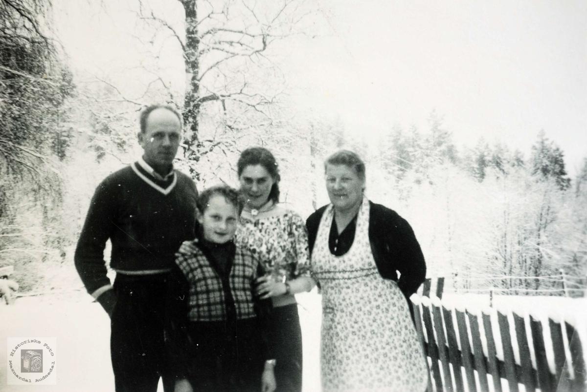 Familien Flottorp. Grindheim.