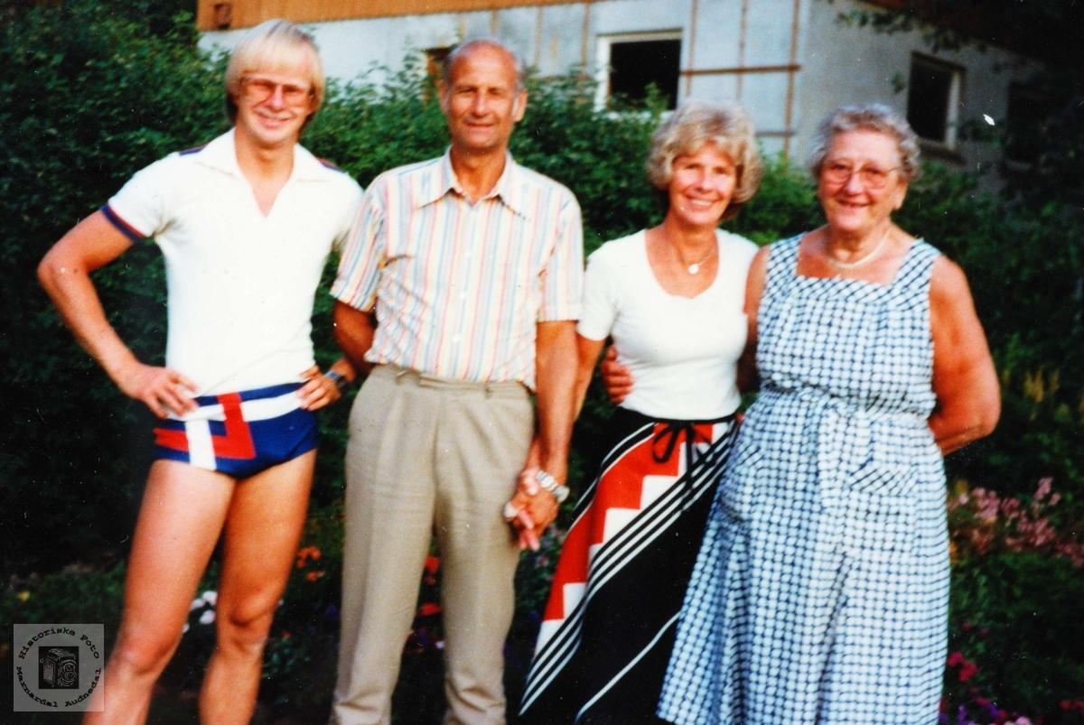 Familien Vestøl. Audnedal.