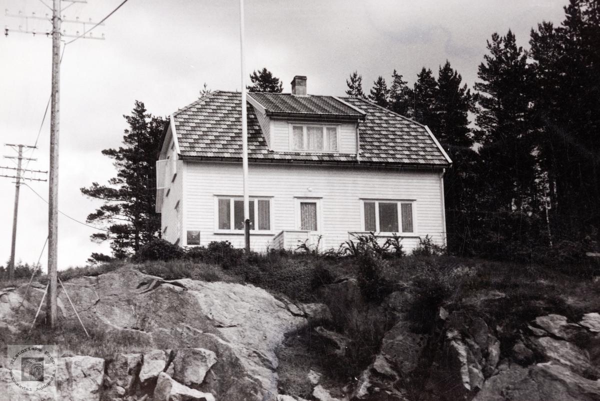 """Fjellheim"" på Sveindal. Audnedal."