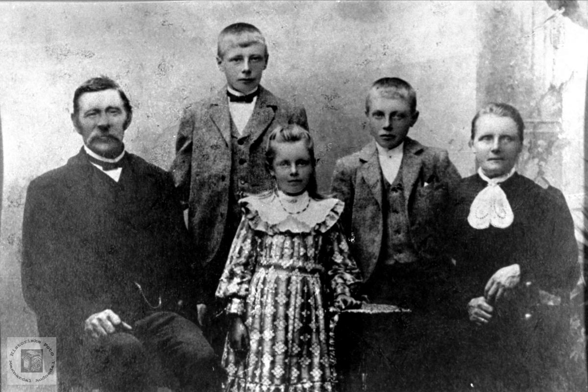Familiegruppe Grimestad, Øyslebø.