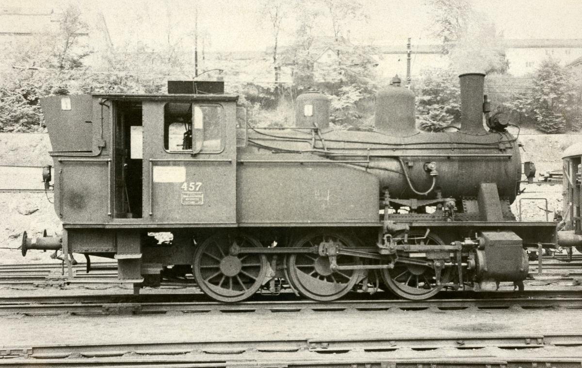Damplok type 23b ved gamlestallen i Lodalen i Oslo.