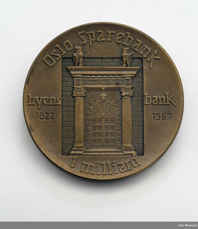 Medalje, Oslo.Sparebank
