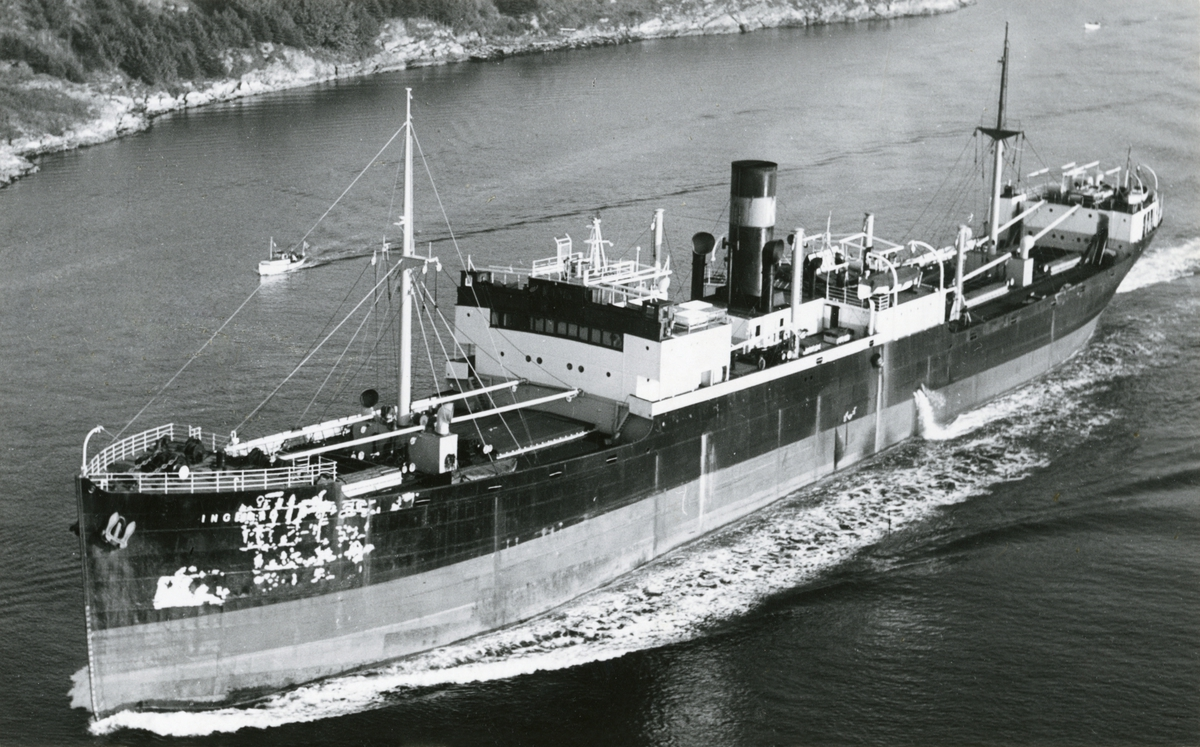 D/S Ingerto (Ex. Dalmore) (b.1927, Scott's Shipbuilding & Engineering Co. Ltd., Greenock, Skottland)