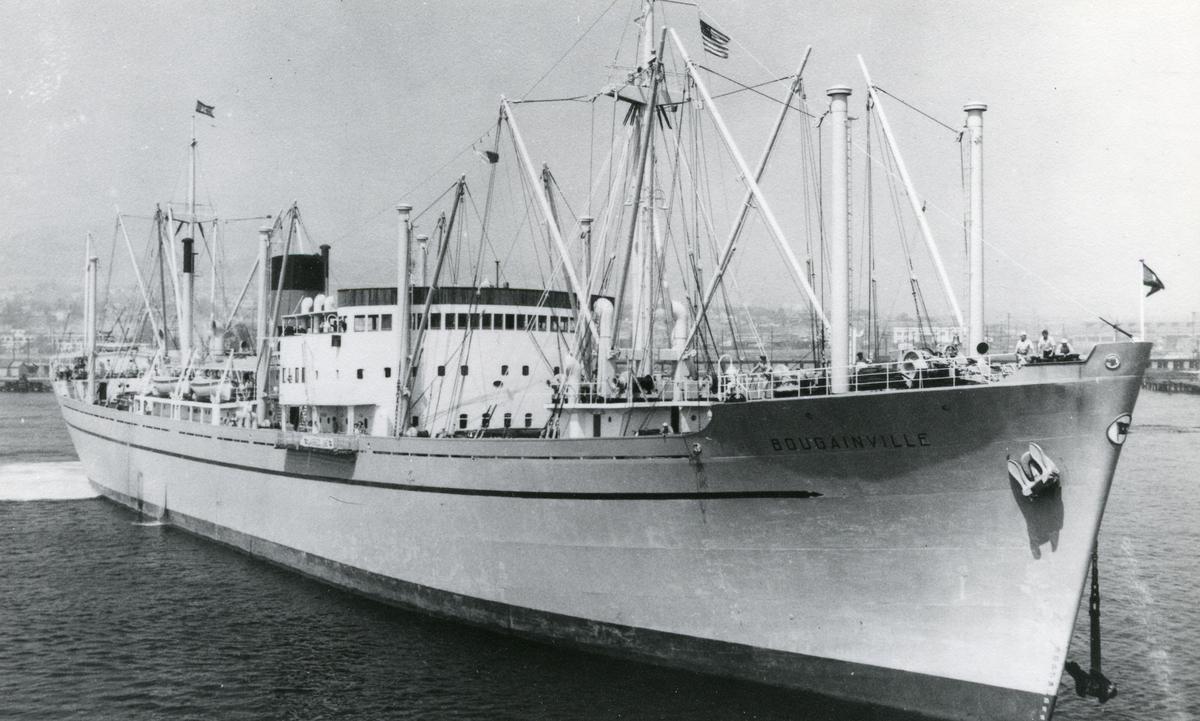 M/S Bougainville (b.1947, N.V. Nederlandsche Dok en Scheepsbouw Maatschappij, Amsterdam)