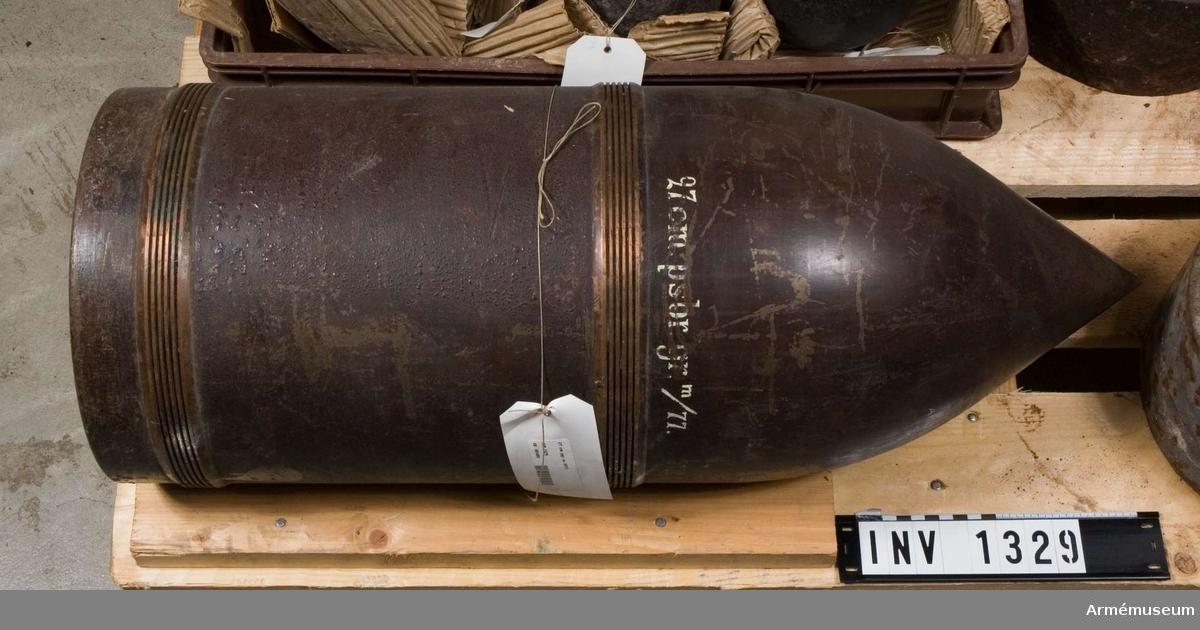 Pansarbrytande granat.