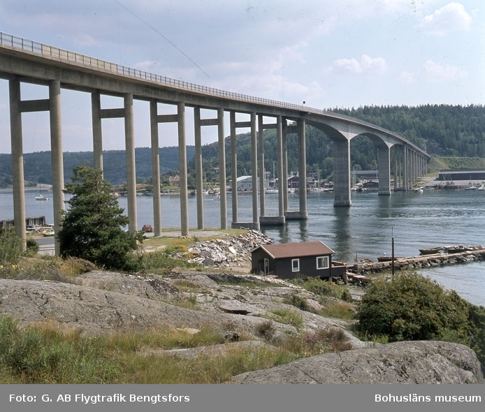Nötesundsbron mellan Bokenäset och Vindön 1978