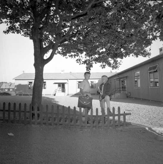 "Enligt notering: ""Skolpaviljongen Bleket 18/9 -59""."