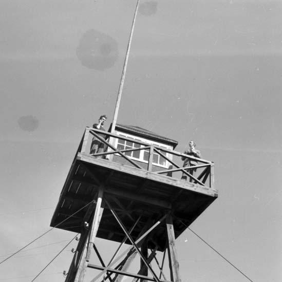 """Enligt notering: """"Luftbevakningsövning 13/9 -59""""."""