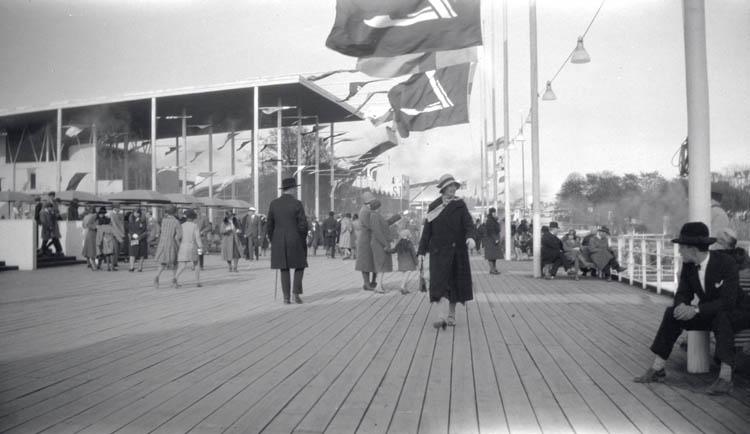 Stockholmsresan maj 1930 med utställningen.
