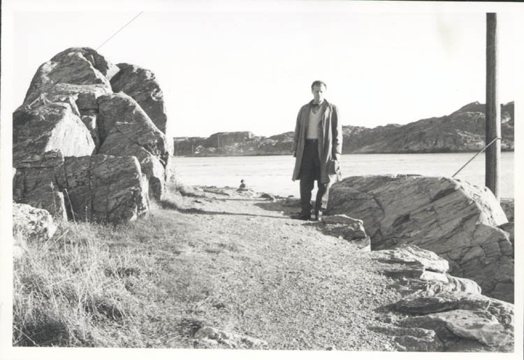 """Noterat på kortet: """"Marstrand. 4.11.1961."""""""