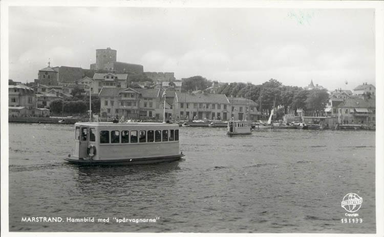 Spårvagnarna mellan Marstrandsön och Koön 1959