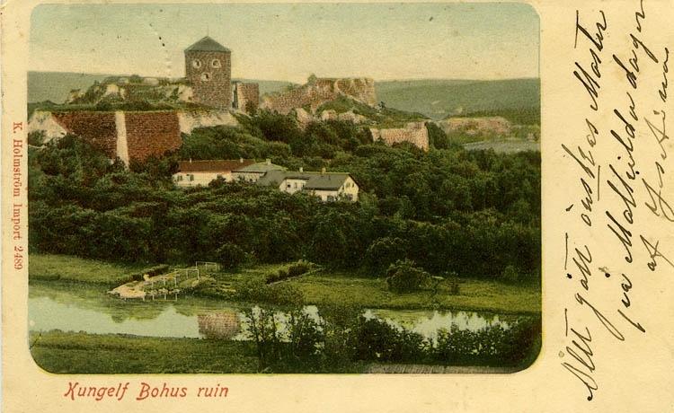 Kungelf Bohus ruin.