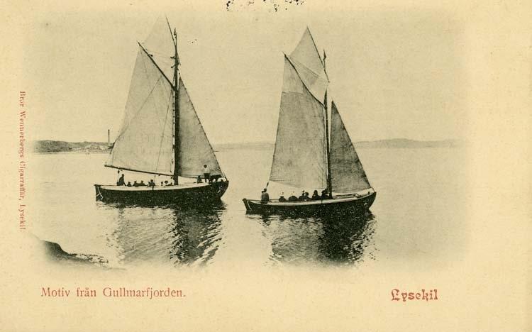 Motiv från Gullmarsfjorden.