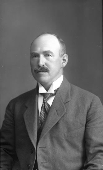 Veterinär Adolf Theodor Matsson 1922