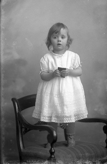 """Enligt fotografens journal Lyckorna 1909-1918: """"Jansson, Gustaf Adolf Lyckorna""""."""