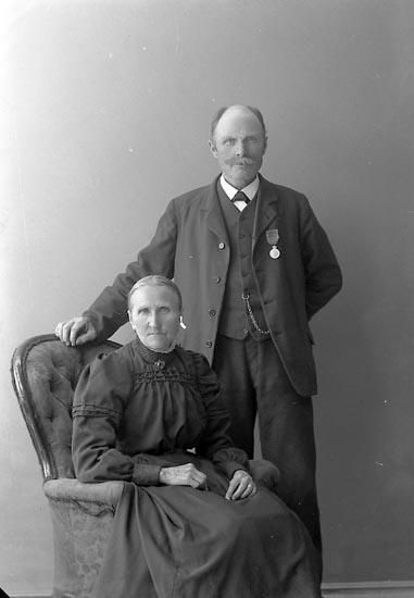 "Enligt fotografens journal nr 2 1909-1915: ""Bergman, Karl Labol Spekeröd""."
