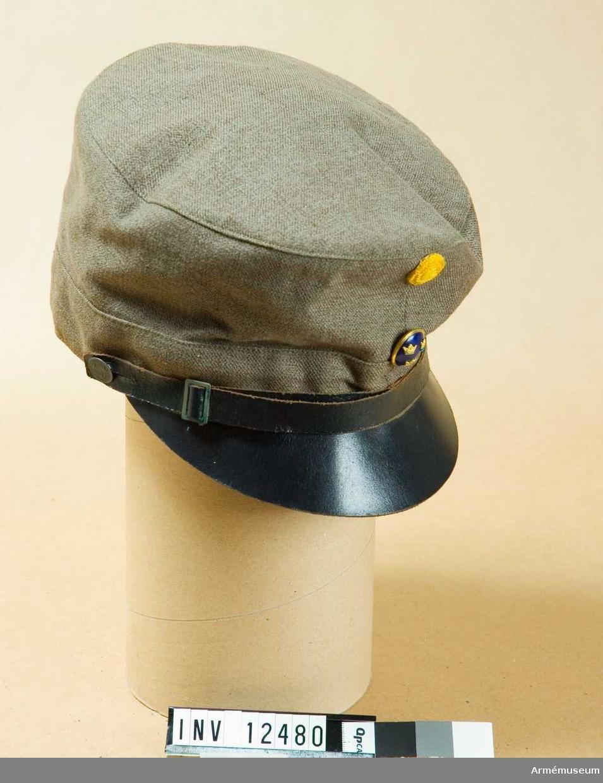 Grupp C I. För officer. Av bomull. Projekterad av sakkunniga f infanteriets fältutrustning år 1926-32.