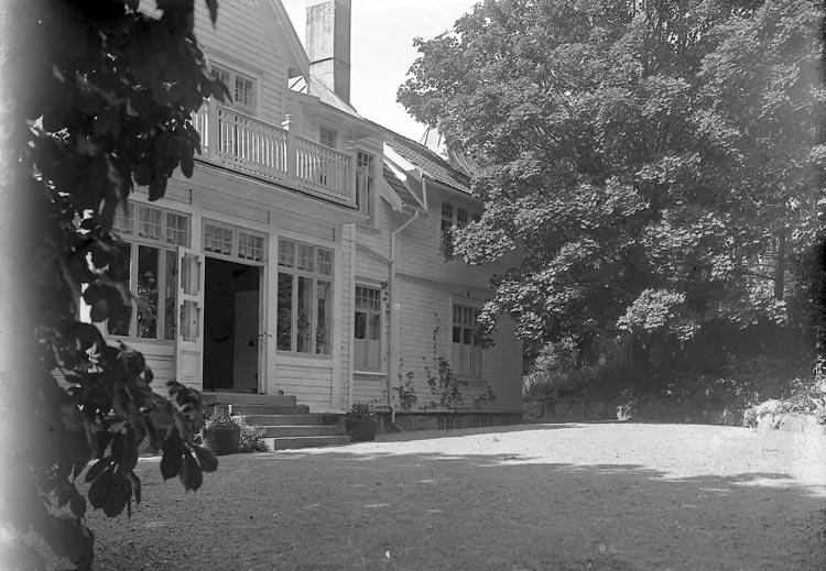 "Fotografens journal nr 6 1930-1943: ""Bruhn, Fr. Maud Pensionat Stenungsund""."