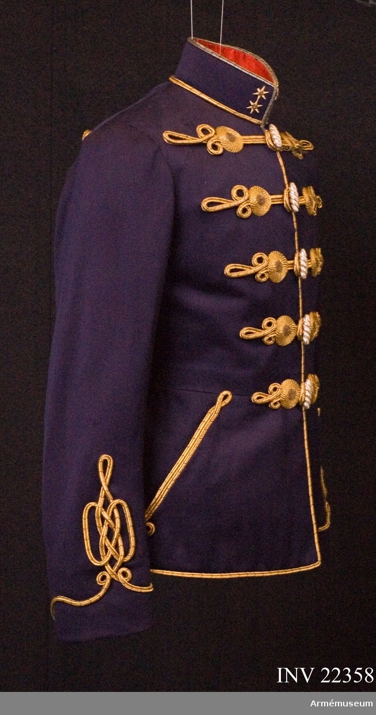 Grupp C I.  För 13 Jaszkun Ezred Huszar; upplöstes 1920-21. Buren av greve Andrassy vid giftemålet med fröken  Kuylenstierna.