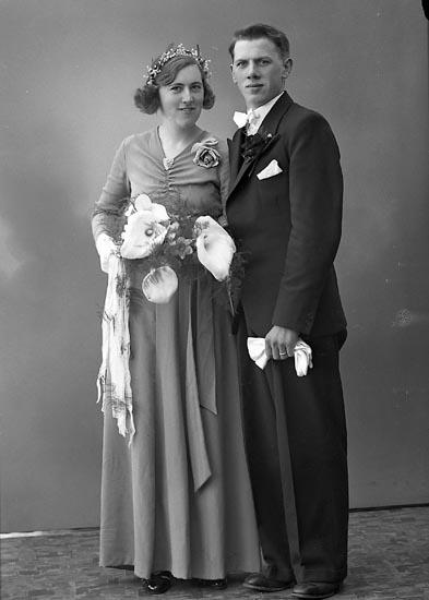 """Enligt fotografens journal nr 6 1930-1943: """"Johansson, Erik, Svanvik, Höviksnäs""""."""