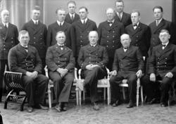 """Enligt fotografens journal nr 6 1930-1943: """"Tulltjänstemänne"""