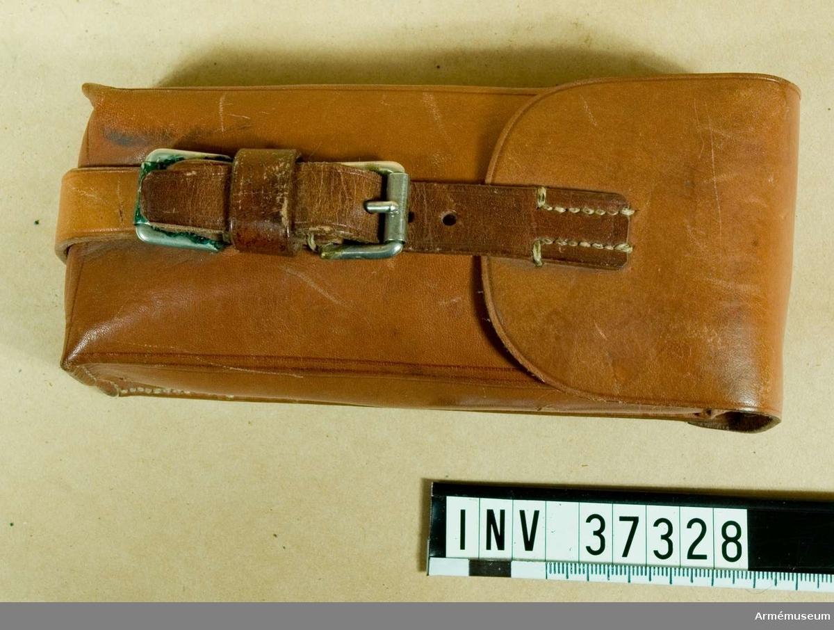 Samhörande nr 37327-8, linjeväxel, väska. Grupp H I.