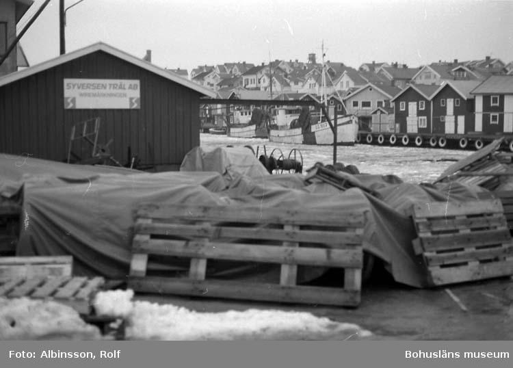 """Enligt fotografens noteringar: """"Wireverkstaden."""" Fototid: 1996 den 12 januari."""