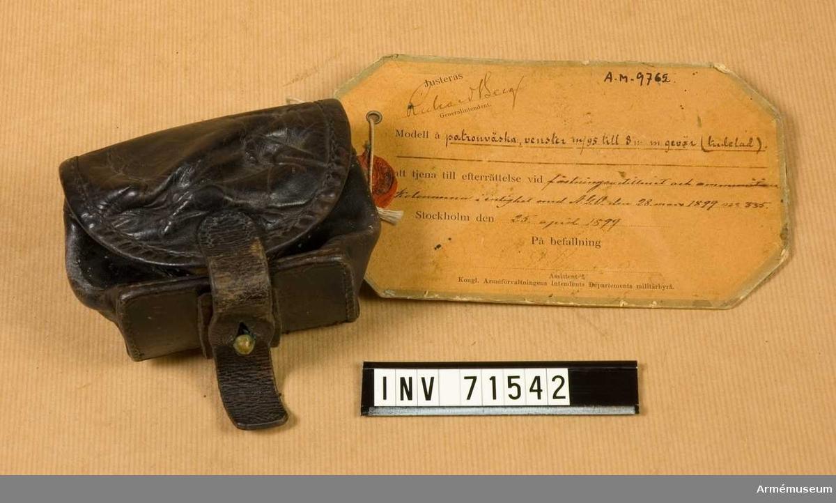 Grupp C:II. Inkom den 16/VIII 1932. Från K.Arméförvaltningens Intendentsdep. D.-n:r 32. Depos.