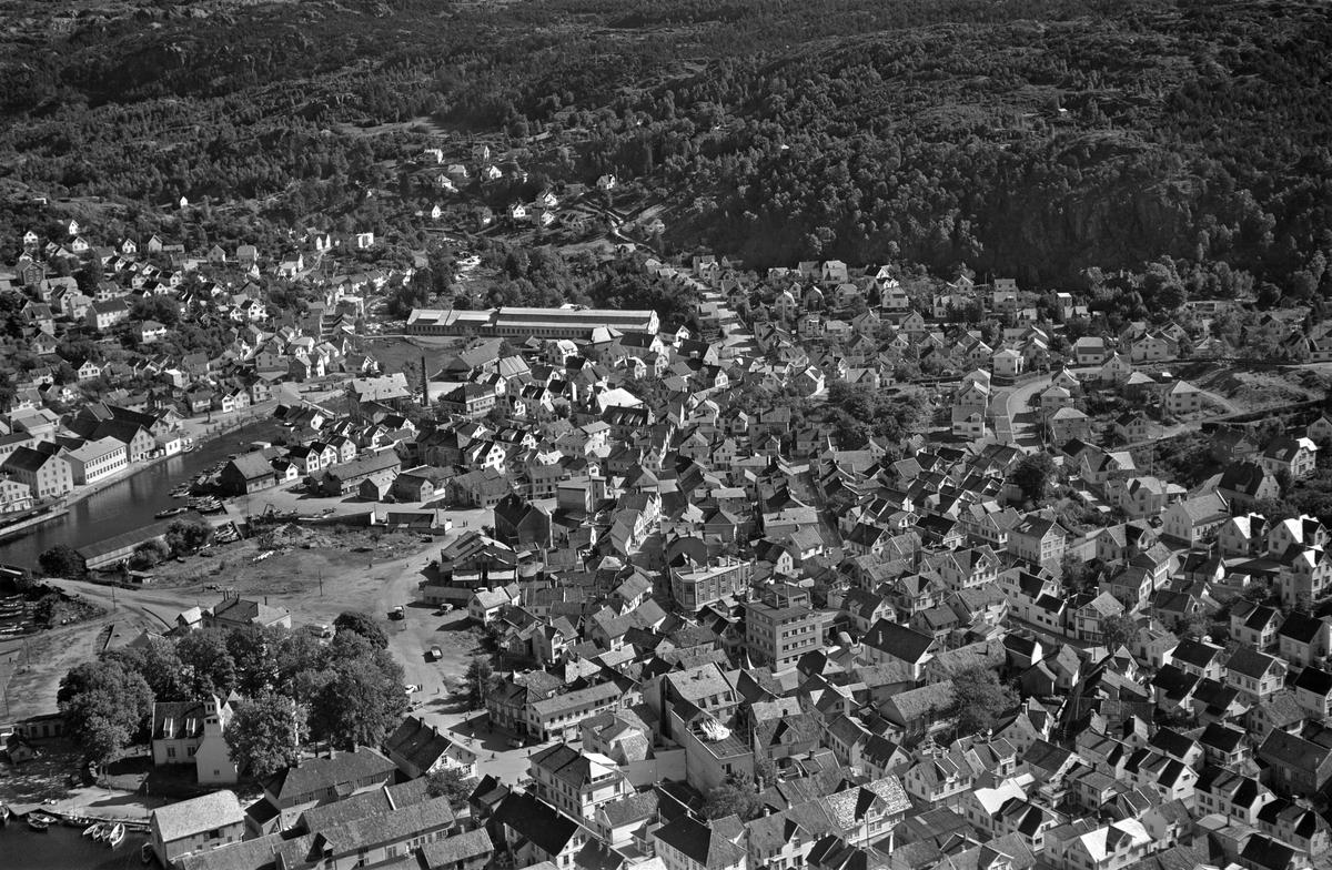 Egersund, stasjonsområdet, Lervika, ullvaren