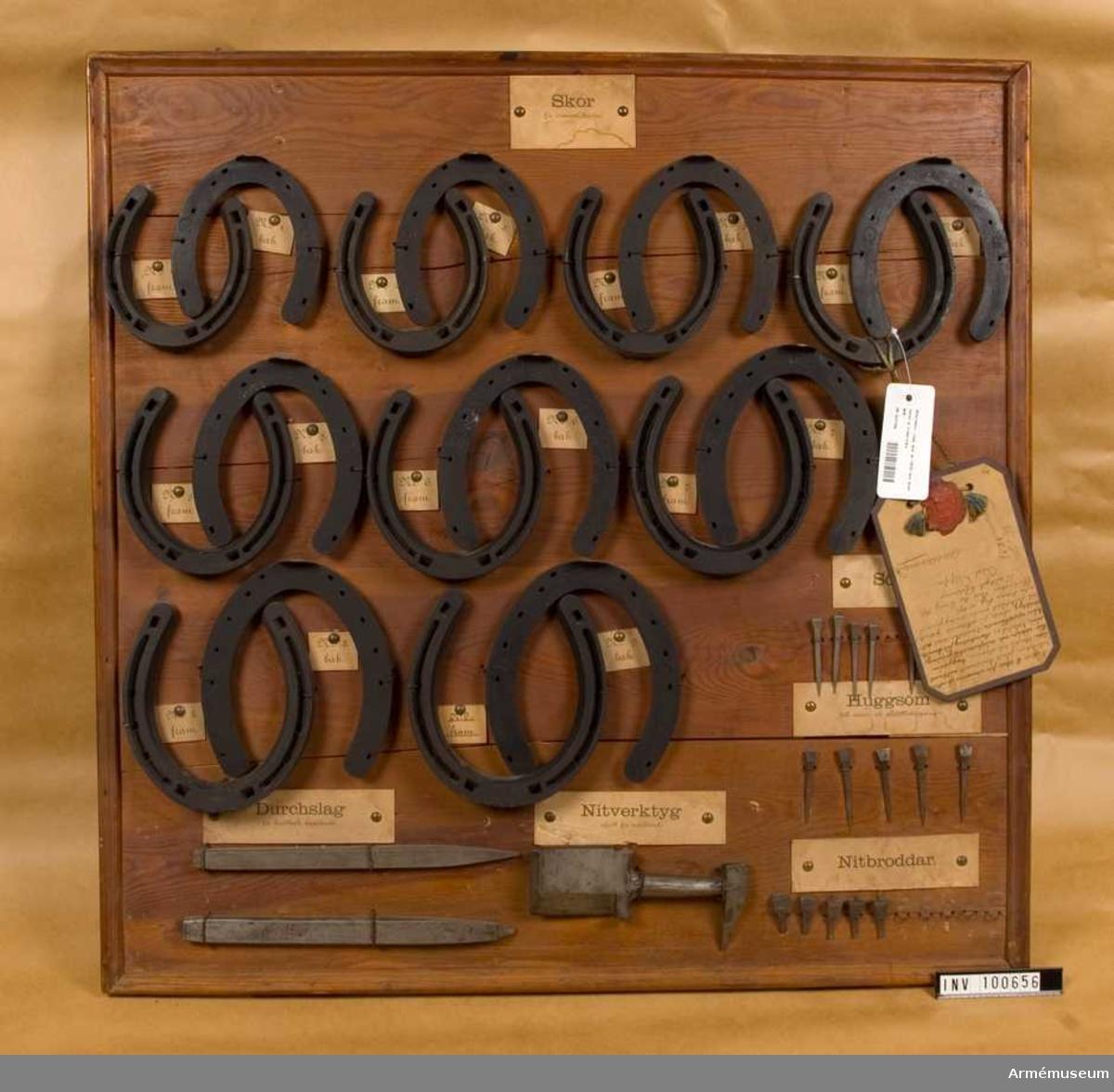Hästskor m/1895