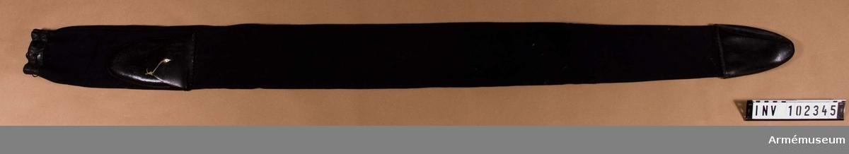 Fodral till fana m/1877
