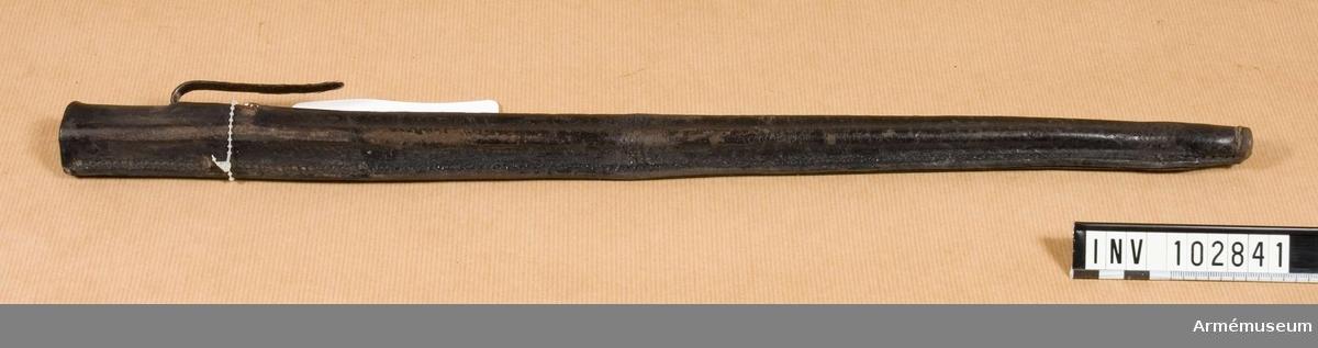 Balja till bajonett m/1867