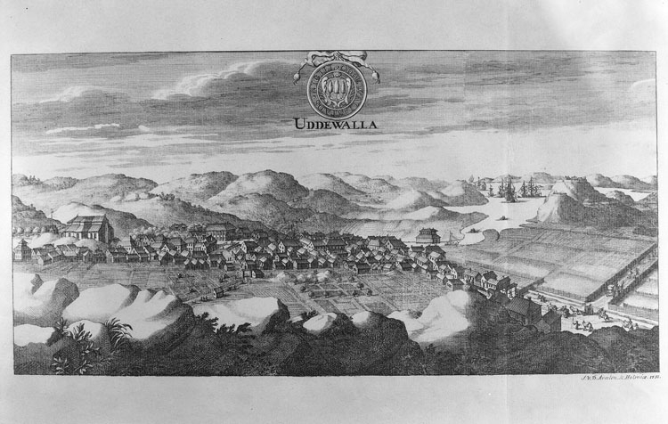 """Uppgift enligt fotografen: """"Uddevalla. Bladet. Dahlbergs Svecia 1713 m. Minnesskrift."""""""