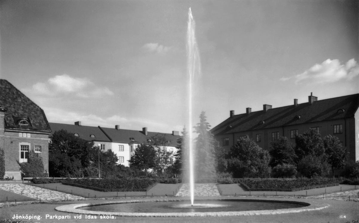Parken vid Idas skola i Jönköping.