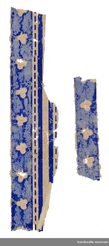 Fragment av tapeter från Gudmundstjärn