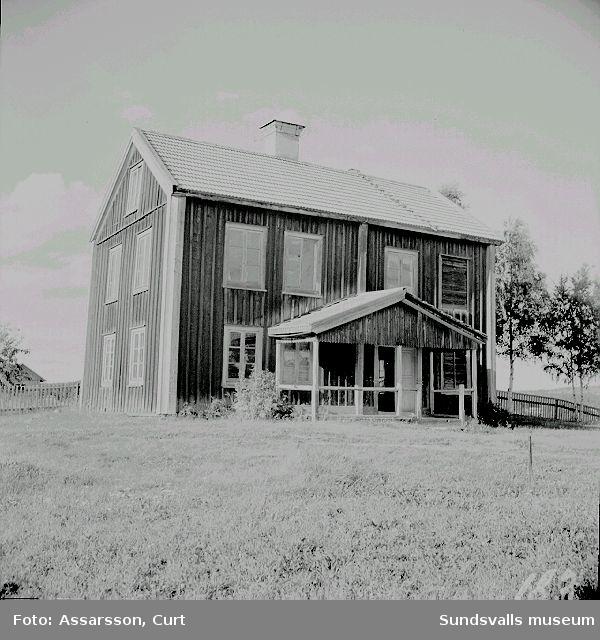 Gammal mangårdsbyggnad i Dingersjö.