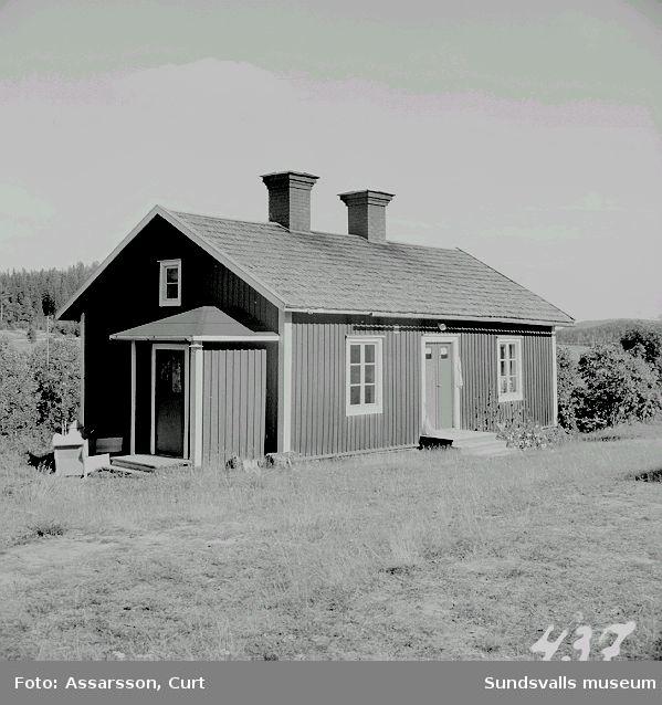 Smedboställe från brukstiden på Sulå, Sättna.
