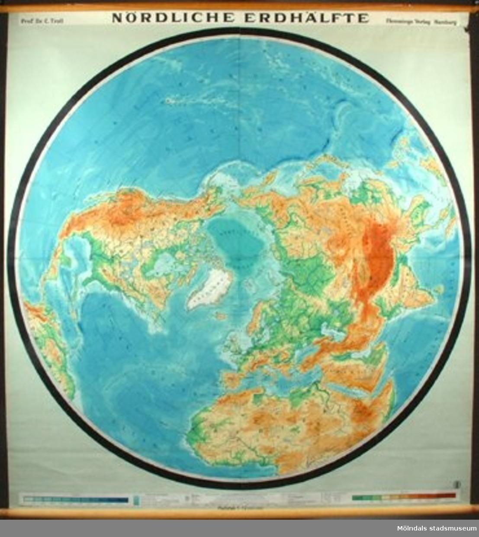 Övningskarta. Till undervisning i geografi.