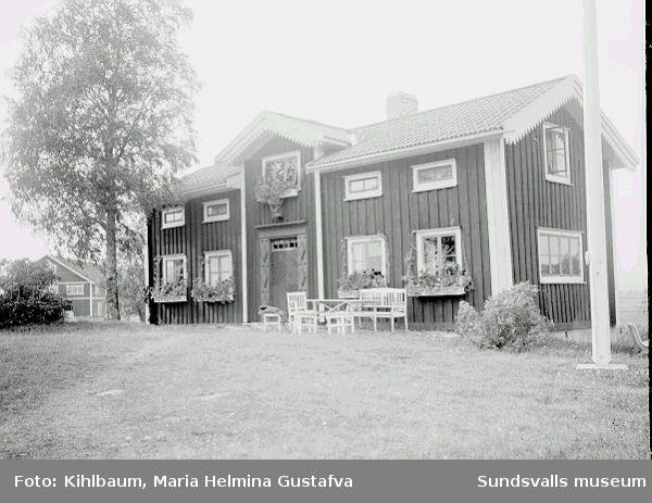 Bostadshus, gård.