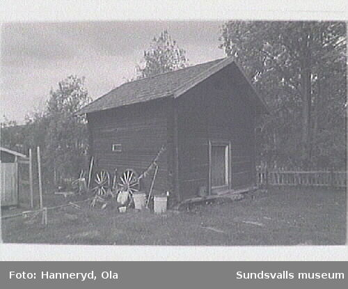 Kulturmiljöinventering i Holms s:n.Bostadshuset (tid prästgård).